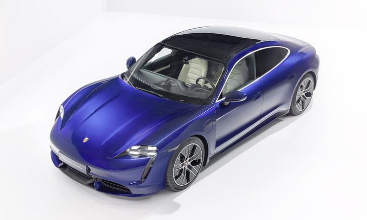 Фото №1 - Porsche Taycan: высокое напряжение