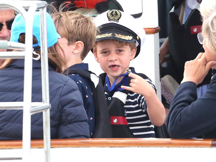 Фото №2 - Принц Джордж Кембриджский: седьмой год в фотографиях