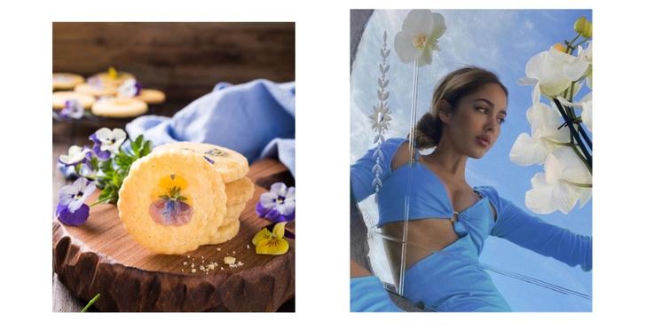 Фото №7 - Фуд-тренд: ванильное печенье со съедобными цветами— лучшее украшение для вашего пикника