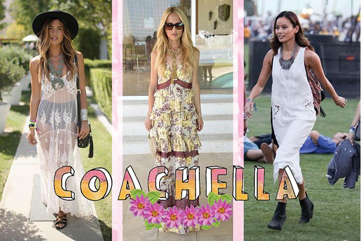 Гости фестиваля Coachella: блогер и модель Рэйчел Барнс, Рэйчел Зоуи, Джеми Чон