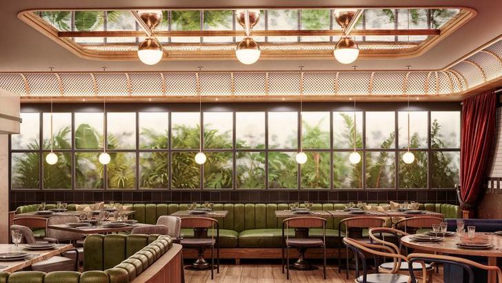 Фото №1 - Новый ресторан «четыре в одном» в Мадриде