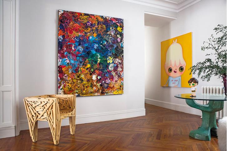 Фото №5 - Квартира для ценителей искусства в Мадриде