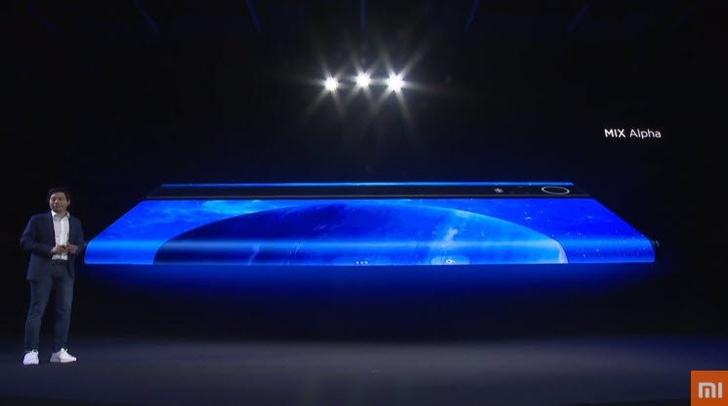 Фото №4 - Xiaomi представила смартфон Mi Mix Alpha, почти полностью состоящий из дисплея