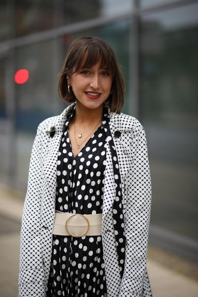 Фото №3 - Как носить гороховый принт в весеннем сезоне