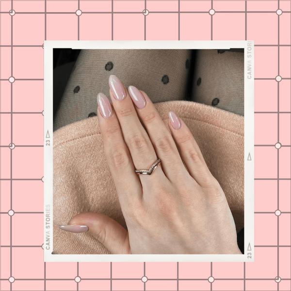 Фото №1 - Нюдовый маникюр на лето: красим ногти как Лана Кондор и не только