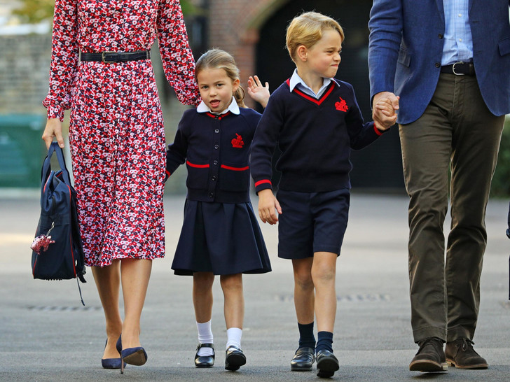 Фото №2 - Королевская дерзость: какое школьное правило игнорируют Джордж и Шарлотта