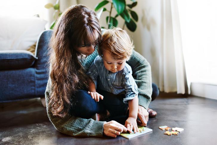 Фото №1 - Малыши 2-4 года: 11 игр из того, что есть под рукой