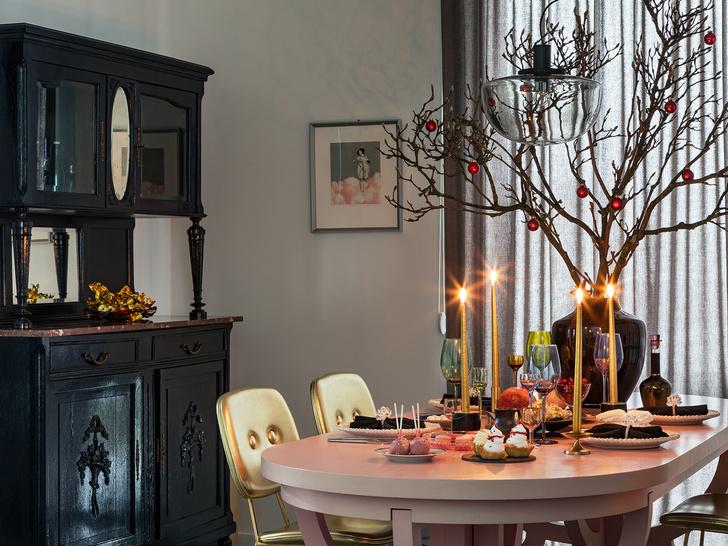 Фото №11 - Все к столу: три дизайнерские сервировки для главного праздника