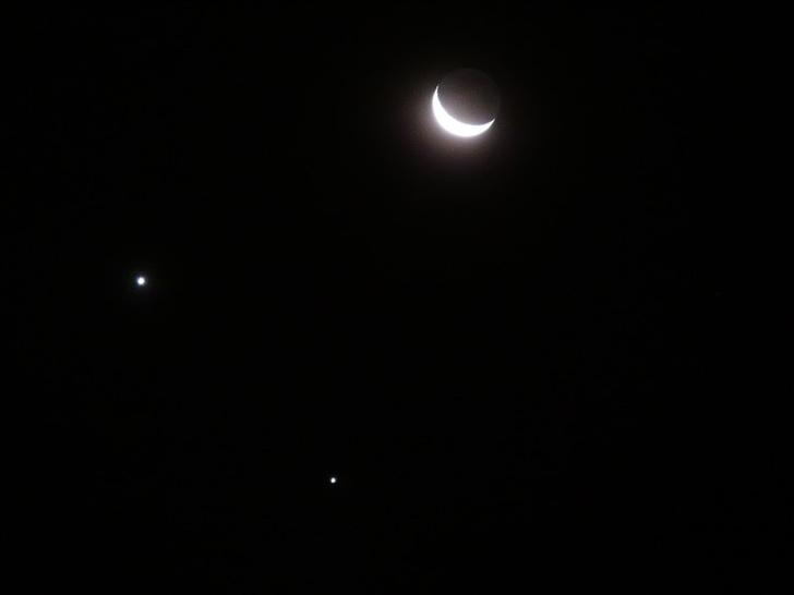 Фото №2 - В январе россияне увидят звездопад и парад планет