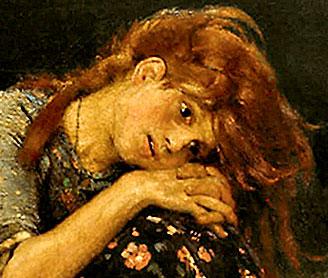 Фото №9 - Девочка с персиками. Первая версия