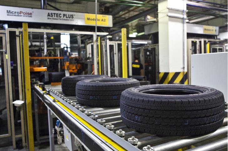Фото №15 - Как это устроено: путешествие на завод по производству автомобильных шин