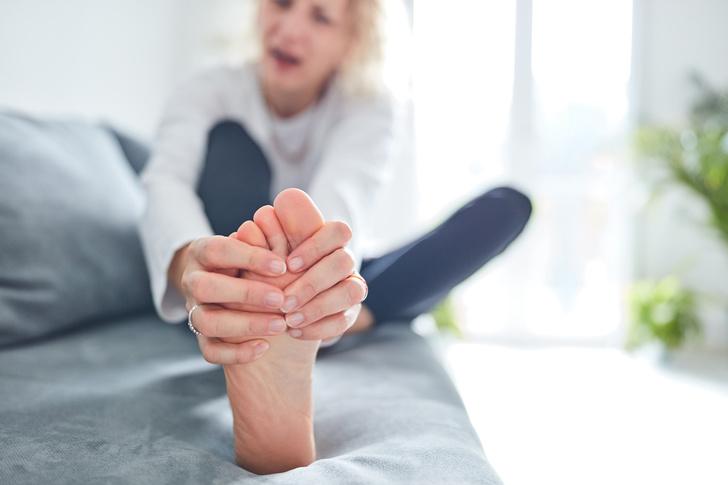 стопы горят подошвы ноги боль