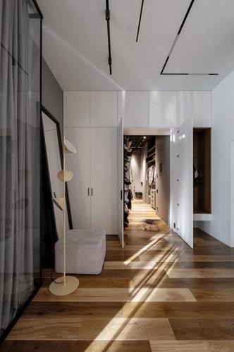 Фото №12 - Квартира 136 м² с бетонным потолком в Москве