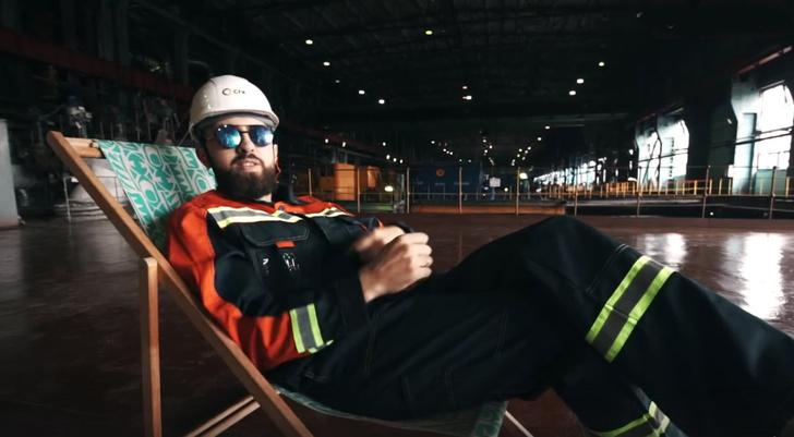 Фото №1 - Сибирские энергетики зачитали рэп о начале отопительного сезона