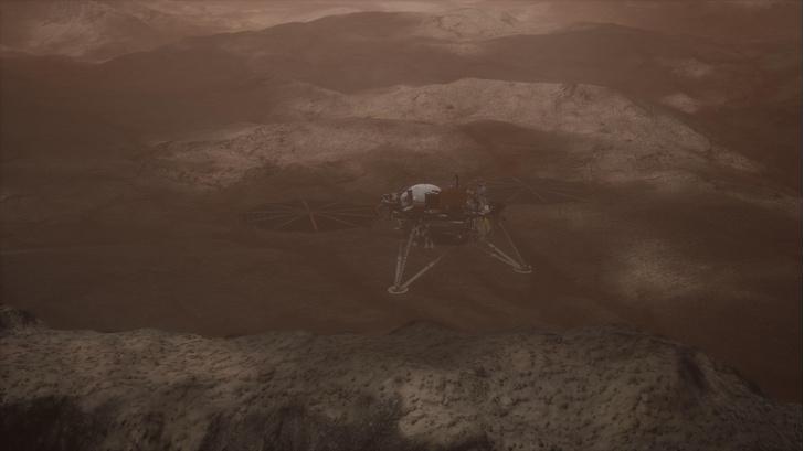 Фото №1 - Ученые разгадали тайну марсотрясений