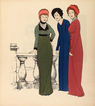 Фото №13 - Король стиля: как Поль Пуаре придумал «хромые юбки», освободил женщин от корсетов и заново изобрел моду