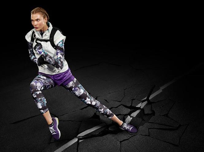 Фото №2 - Карли Клосс стала лицом коллекции Adidas by Stella McCartney