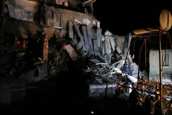 Фото №1 - Землетрясение в Албании