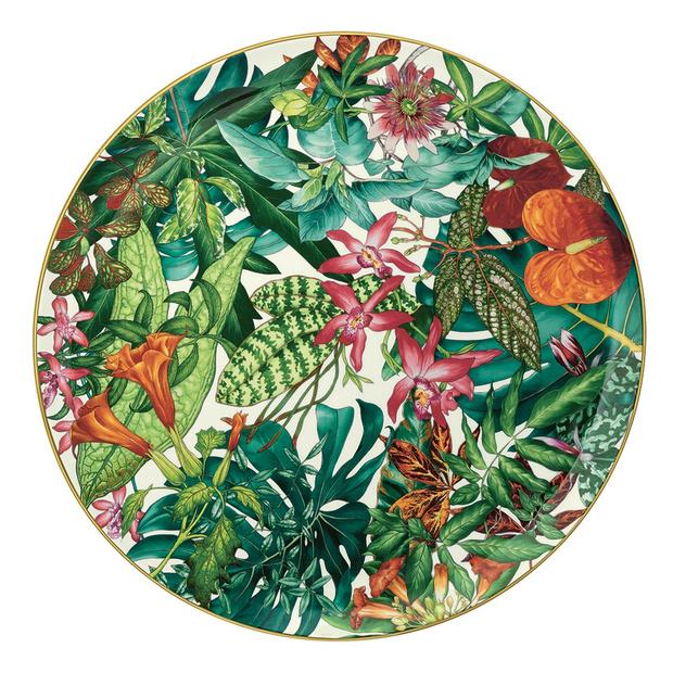 Фото №4 - Интервью с создателями новой коллекции фарфора Passifolia от Hermès