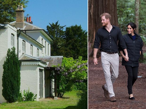 Фото №1 - 8 интересных фактов о новом доме Гарри и Меган