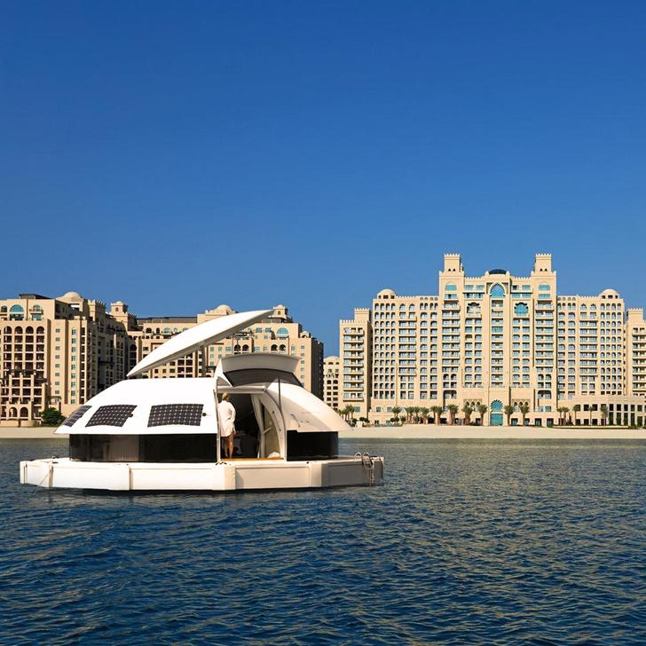 Фото №1 - Туризм будущего: плавучий эко-отель Anthenea