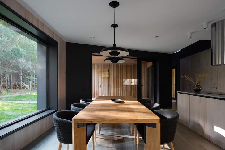 Фото №3 - Современная архитектура: деревянный дом 134 м² в Сибири