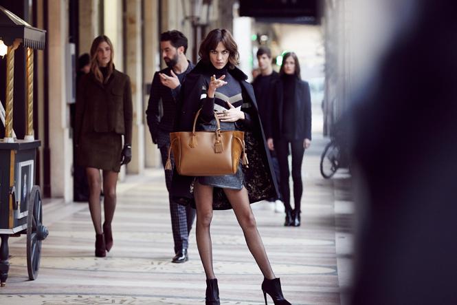 Фото №4 - Прогулки по Парижу: новая рекламная кампания Longchamp