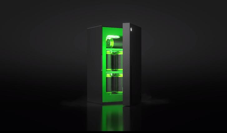 Фото №1 - Microsoft представил мини-холодильники Xbox Series X