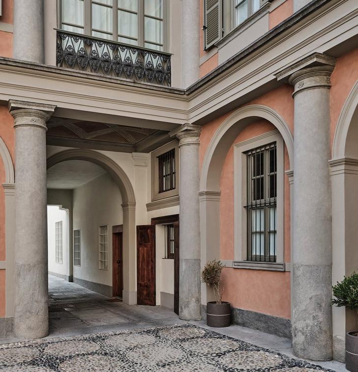 Фото №1 - Уютная квартира на месте бывшей типографии в Турине