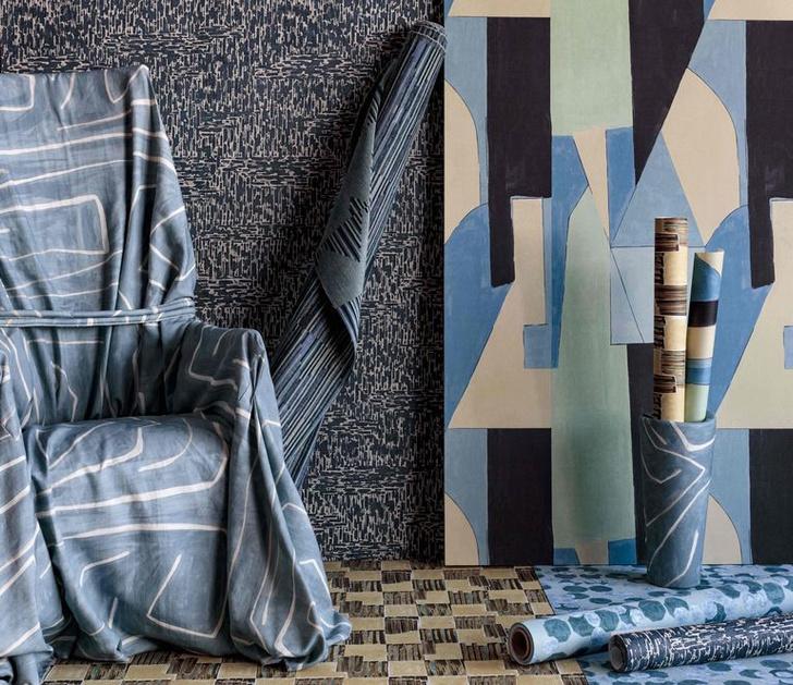 Фото №3 - Новая коллекция ткани и обоев от Келли Уэстлер