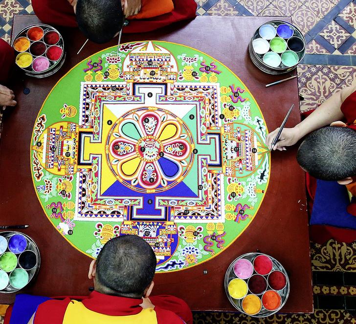 Фото №1 - Культурный код: четыре комнаты — истинный смысл тибетской мандалы