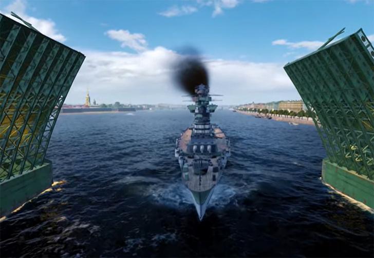 Фото №1 - Традиционный военно-морской парад ко Дню Победы пройдет в видеоигре (видео)
