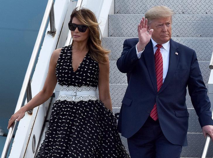 Фото №2 - Новая Мэрилин Монро: что хотела сказать своим нарядом Мелания Трамп