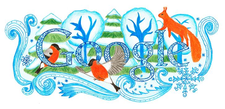 Фото №20 - «Дудл для Google — 2015»: 30 лучших рисунков
