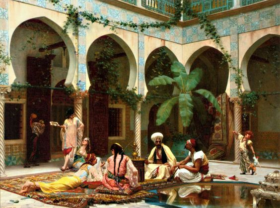 Фото №1 - Лепестки роз, карамель и басма: как ухаживали за собой любимые женщины турецких султанов