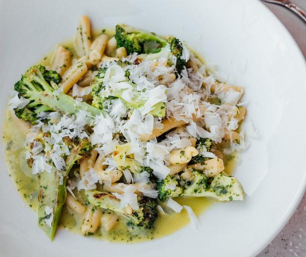 Паста с брокколи, Казеречче, простой пошаговый рецепт