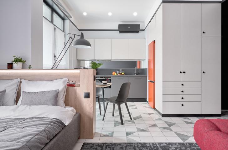 Фото №1 - Стильные апартаменты 31 м² для сдачи в аренду в Москве