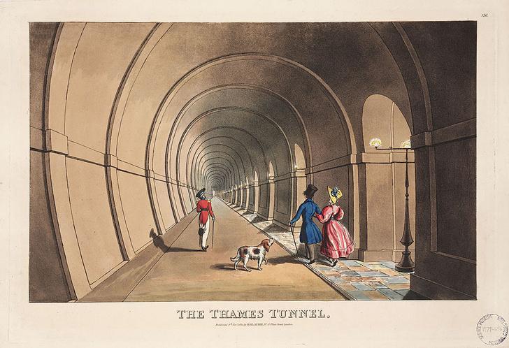 Фото №8 - Тоннель под Темзой: драматическая история строительства первого в мире тоннеля под рекой