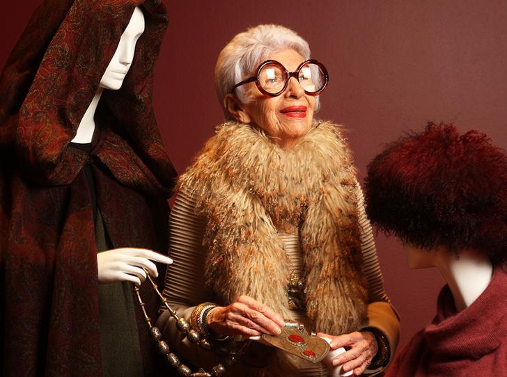 Фото №3 - Истории великолепной Айрис Апфель: о жизни, моде и любви длиною в жизнь