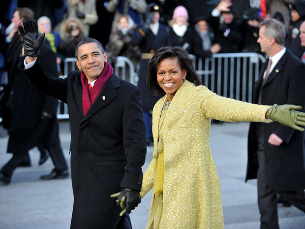 Фото №2 - Незавидная участь: почему Мишель Обама не хотела, чтобы ее муж стал президентом