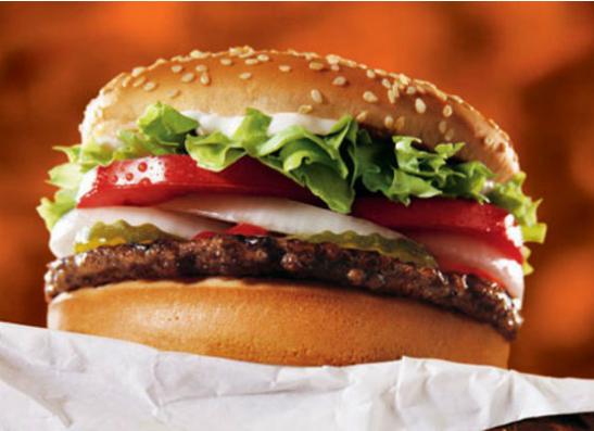 «Воппер» из Burger King