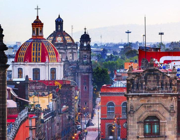 Фото №1 - Место дня. Исторический центр Мехико (Мексика)