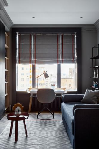Фото №13 - Московская квартира 300 м² с английским акцентом