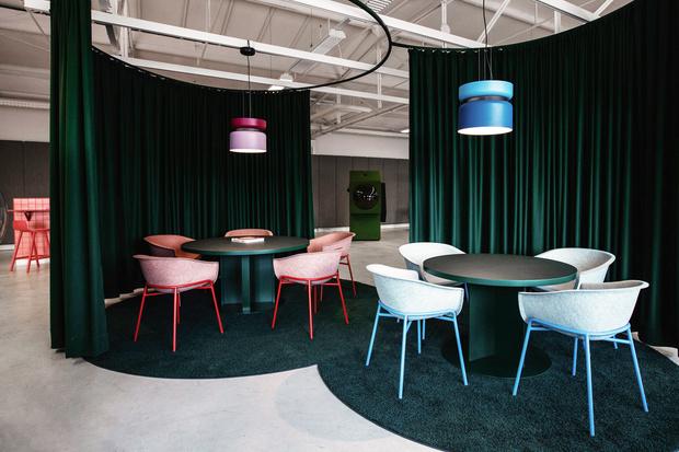 Фото №6 - Яркий офис-трансформер в Берлине