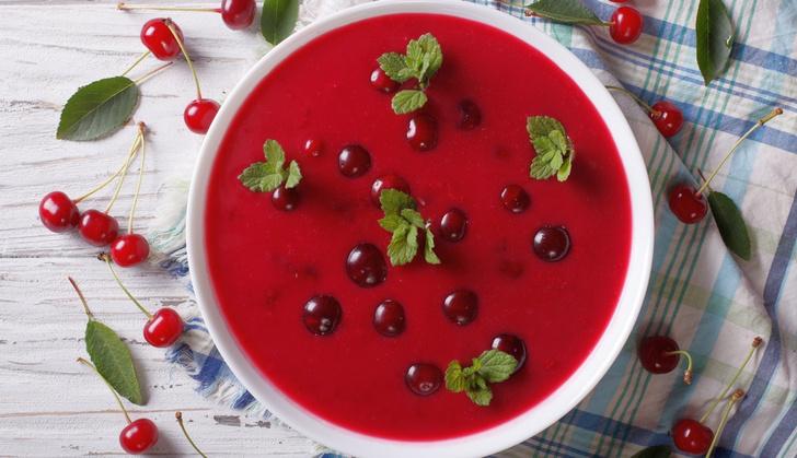 Фото №1 - Вишневый суп разных народов мира