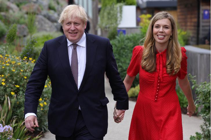 Борис Джонсон, последние новости, фото 2021, жена Бориса Джонсона беременна, Борис Джонсон станет отцом