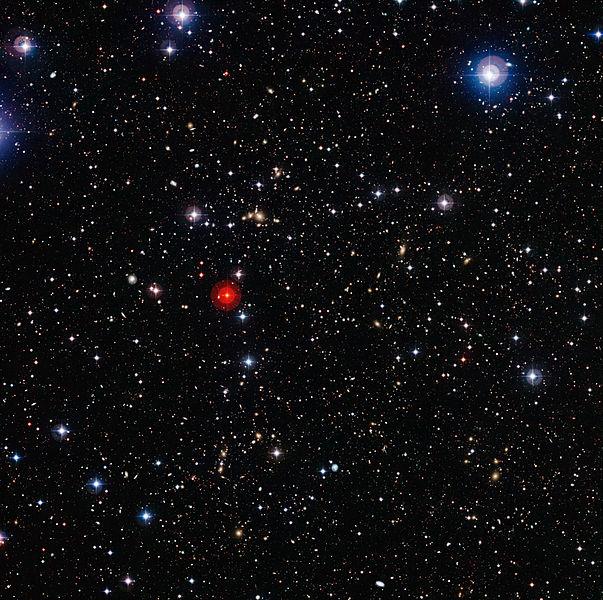 Фото №1 - Астрофизики заявили об открытии крупнейшего объекта во Вселенной