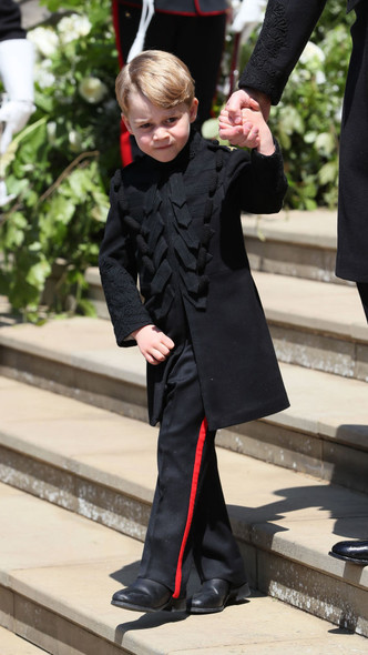Фото №3 - Самые важные гости: маленькие Виндзоры на королевских свадьбах