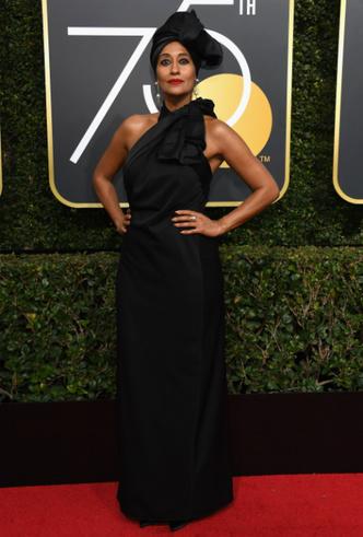 Фото №11 - Леди в черном: кому удалось выделиться на «Золотом глобусе – 2018»