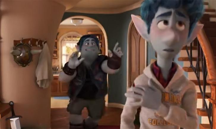 Фото №1 - Первый трейлер нового мультфильма от Pixar «Вперед»